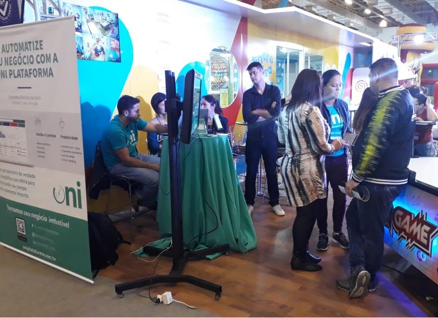 Oniplataforma participa da 13ª Expo Parques e Festas