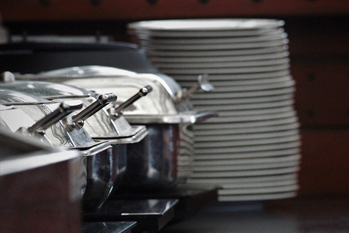 Materiais e equipamentos para buffets